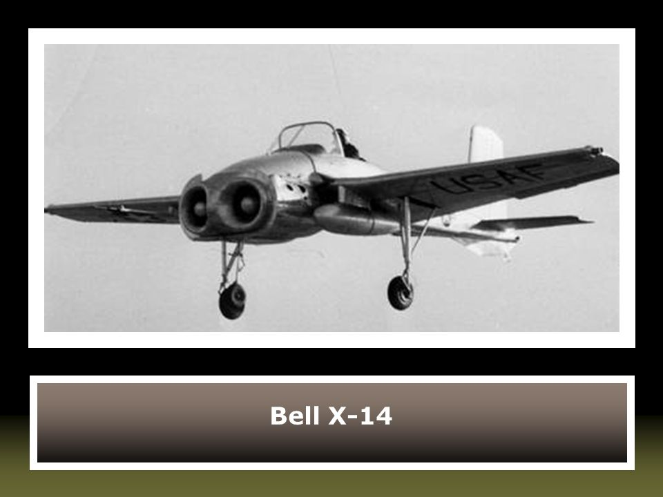 Bell X-14