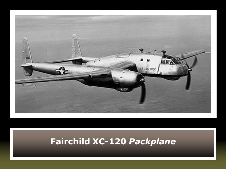 Fairchild XC-120 Packplane