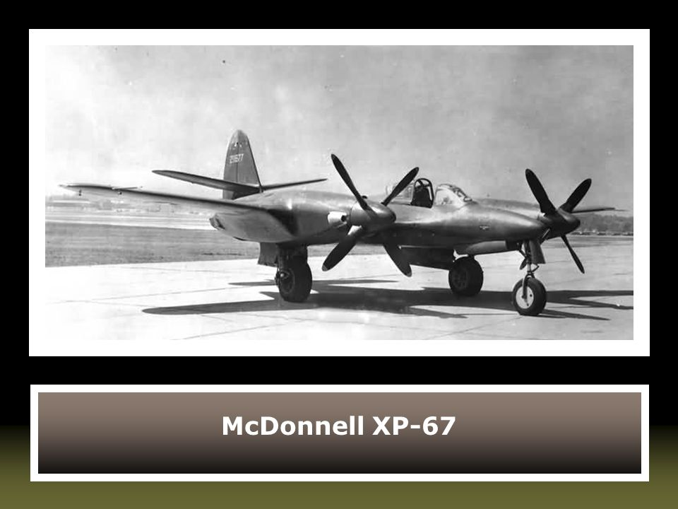McDonnell XP-67