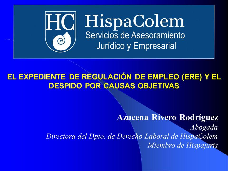 Directora del Dpto. de Derecho Laboral de HispaColem