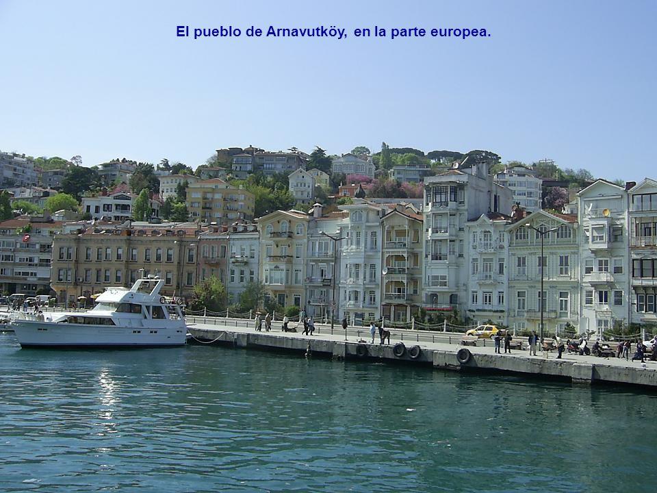 El pueblo de Arnavutköy, en la parte europea.