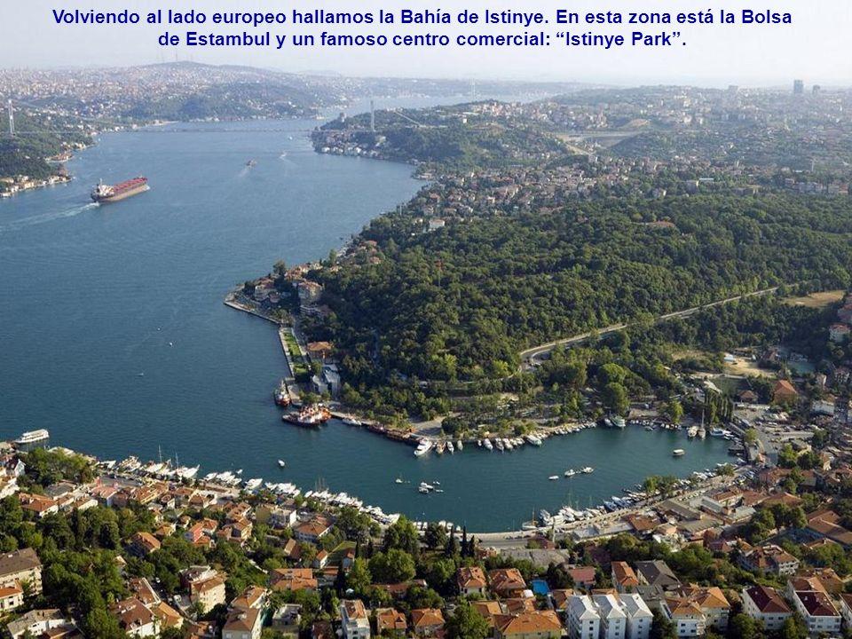 Volviendo al lado europeo hallamos la Bahía de Istinye
