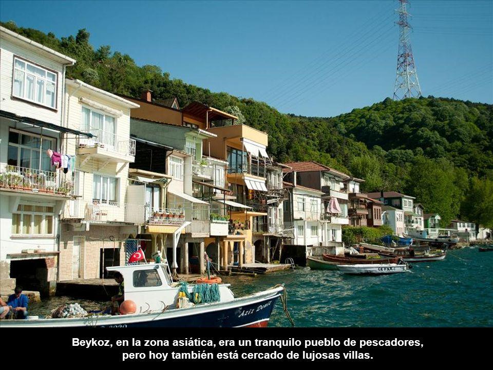 Beykoz, en la zona asiática, era un tranquilo pueblo de pescadores,