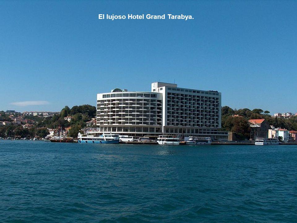 El lujoso Hotel Grand Tarabya.