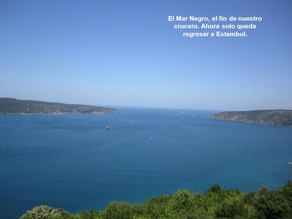 El Mar Negro, el fin de nuestro crucero
