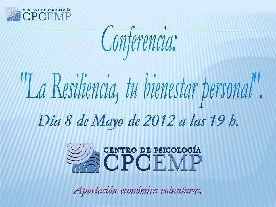 Día 8 de Mayo de 2012 a las 19 h. Conferencia: