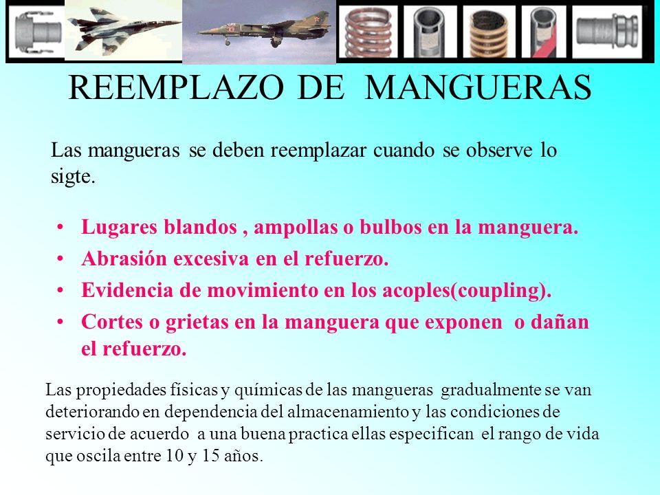 REEMPLAZO DE MANGUERAS