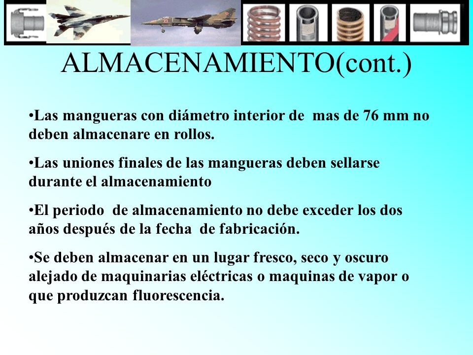ALMACENAMIENTO(cont.)