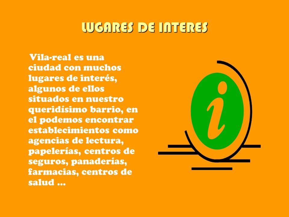 LUGARES DE INTERES