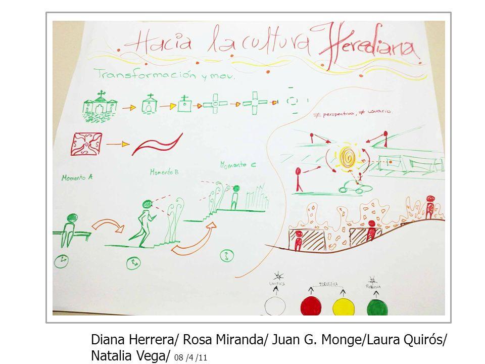 Diana Herrera/ Rosa Miranda/ Juan G