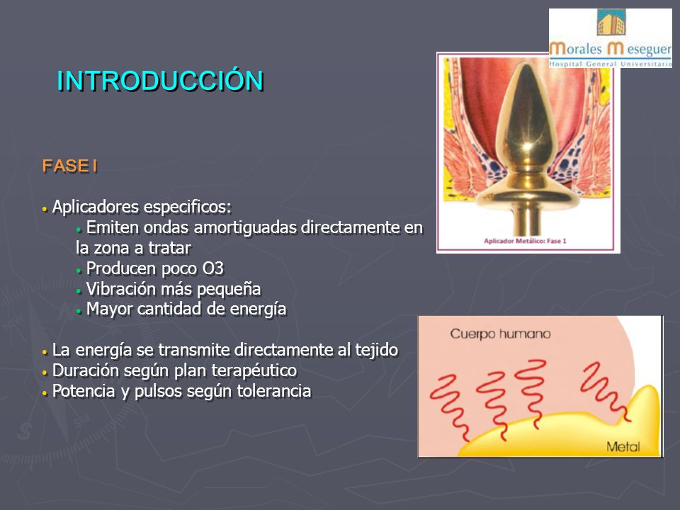 INTRODUCCIÓN FASE I Aplicadores especificos:
