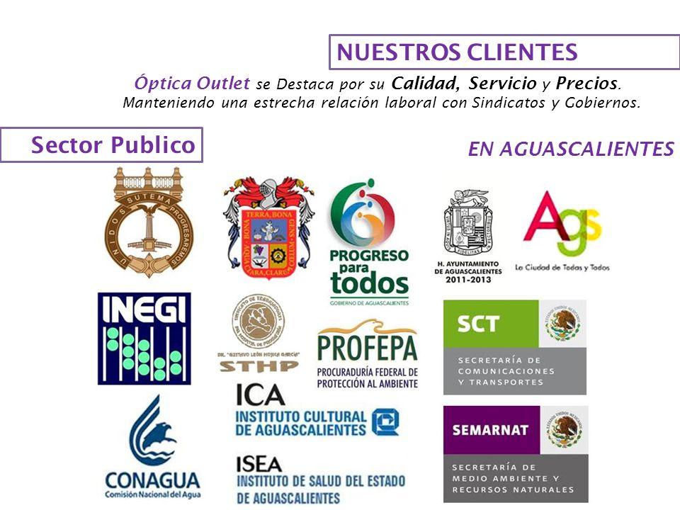 NUESTROS CLIENTES Sector Publico EN AGUASCALIENTES