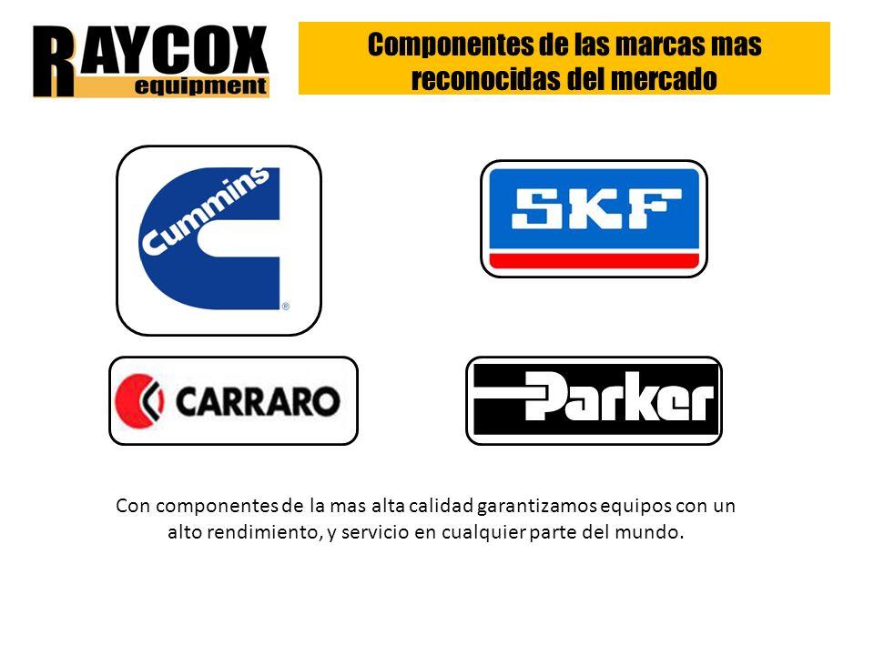 Componentes de las marcas mas reconocidas del mercado