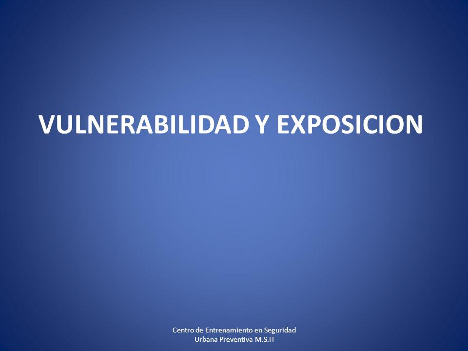 VULNERABILIDAD Y EXPOSICION