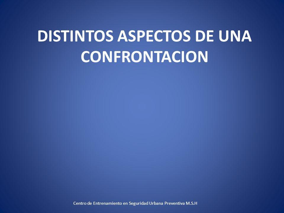 DISTINTOS ASPECTOS DE UNA CONFRONTACION