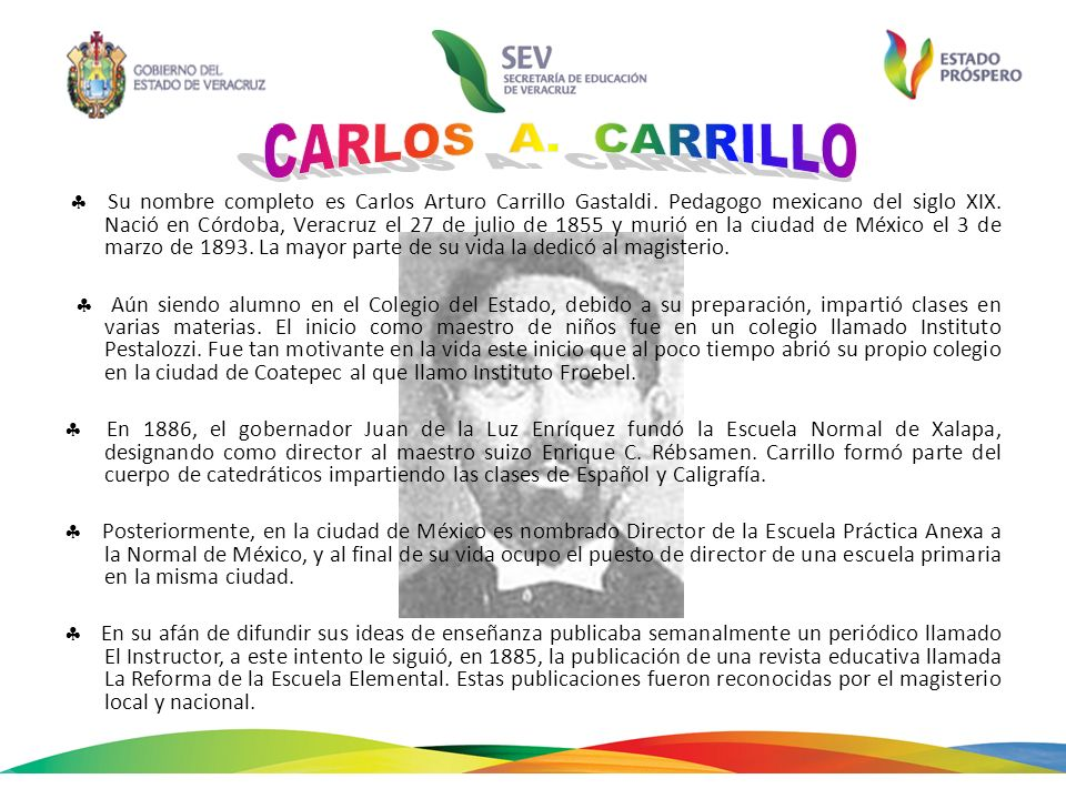 CARLOS A. CARRILLO