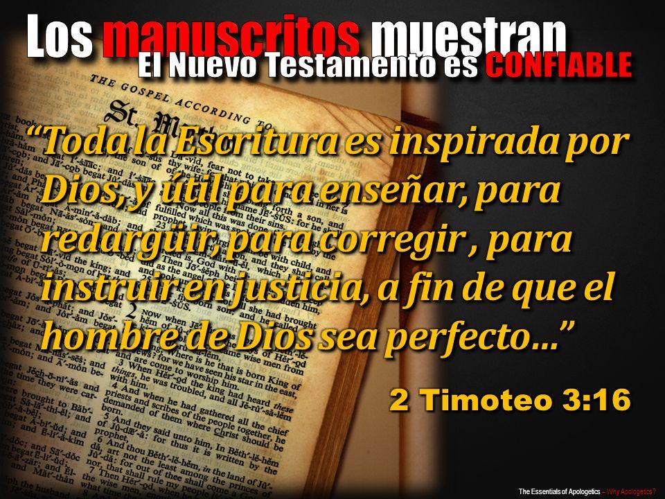 Los manuscritos muestran El Nuevo Testamento es CONFIABLE