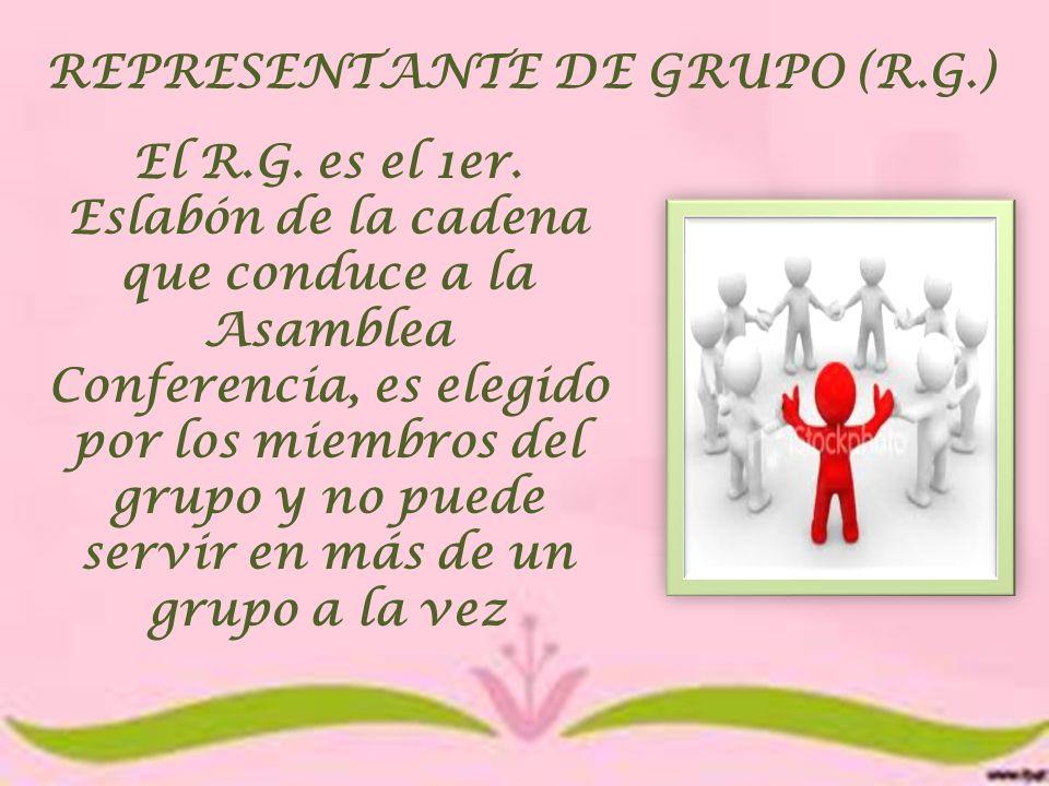 REPRESENTANTE DE GRUPO (R.G.)