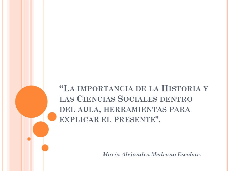 María Alejandra Medrano Escobar.