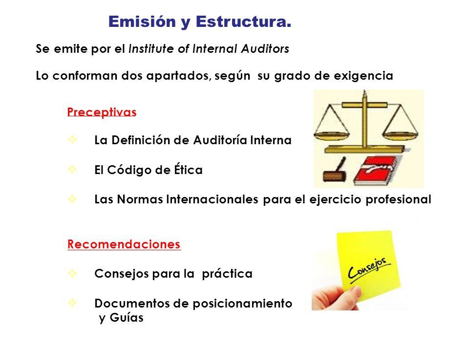 Emisión y Estructura. y Guías