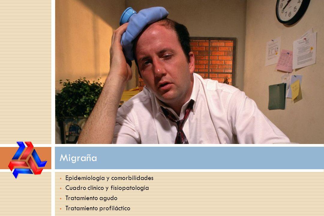 Migraña Epidemiología y comorbilidades Cuadro clínico y fisiopatología