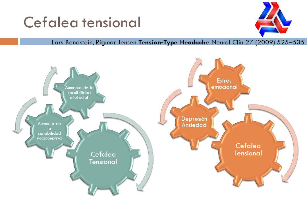 Cefalea tensional Cefalea Tensional Cefalea Tensional