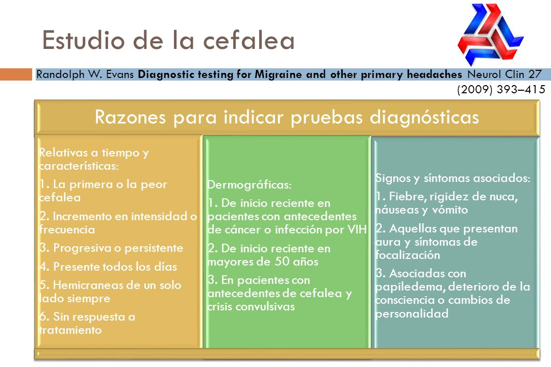 Razones para indicar pruebas diagnósticas