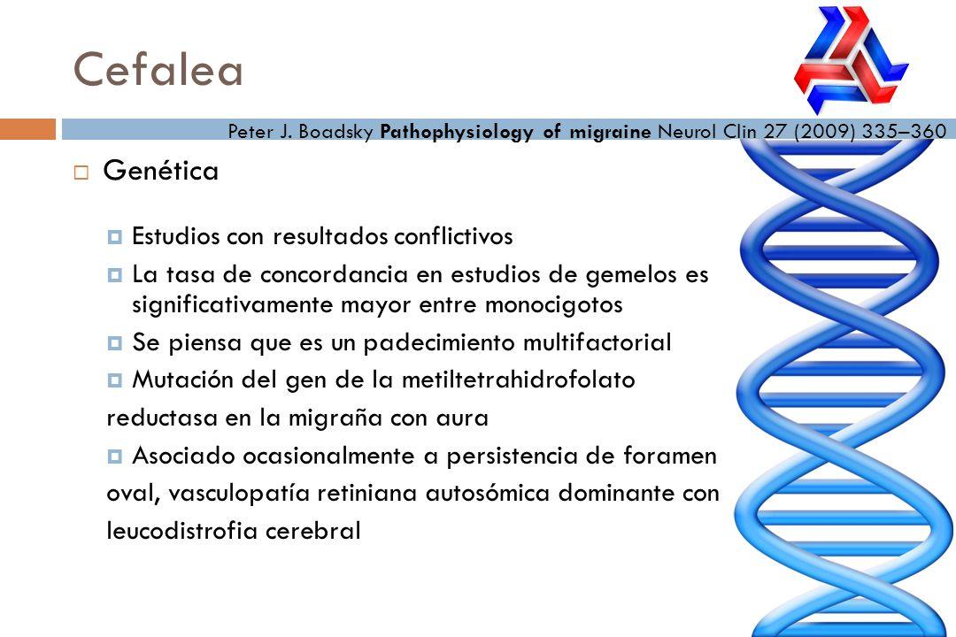 Cefalea Genética Estudios con resultados conflictivos