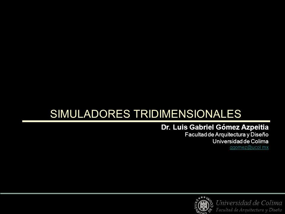 SIMULADORES TRIDIMENSIONALES