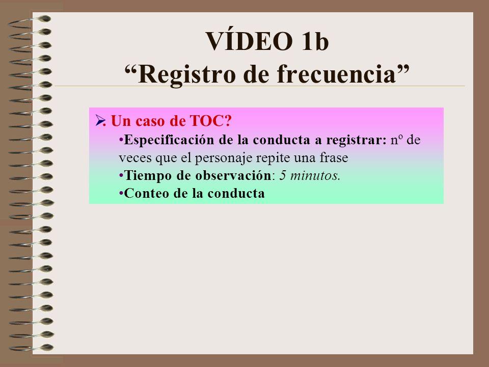 VÍDEO 1b Registro de frecuencia