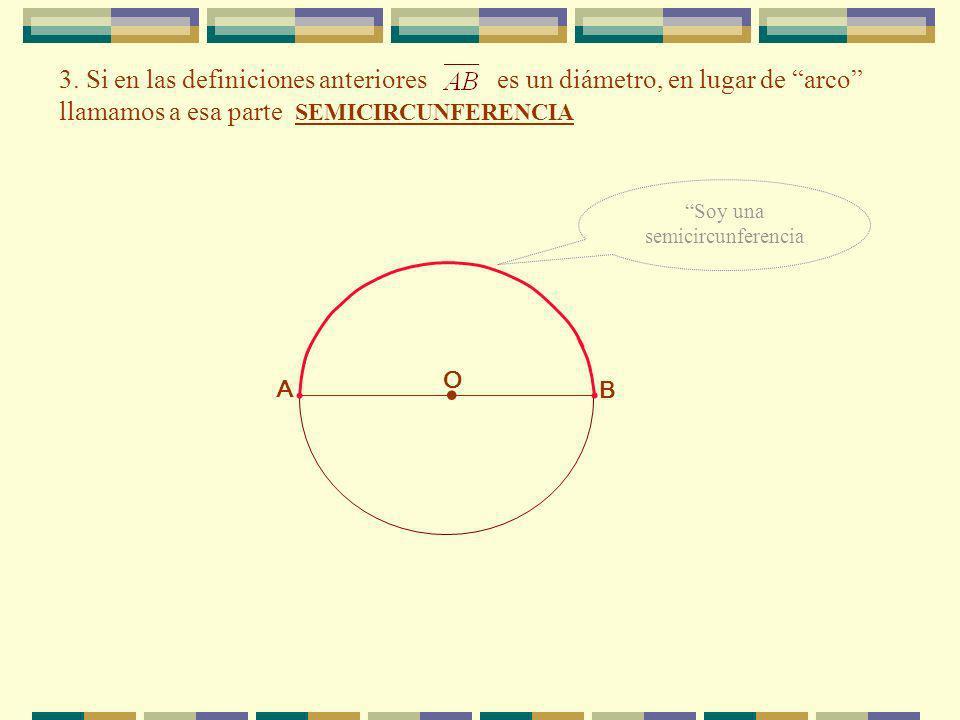 Soy una semicircunferencia