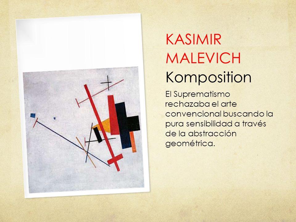KASIMIR MALEVICH Komposition