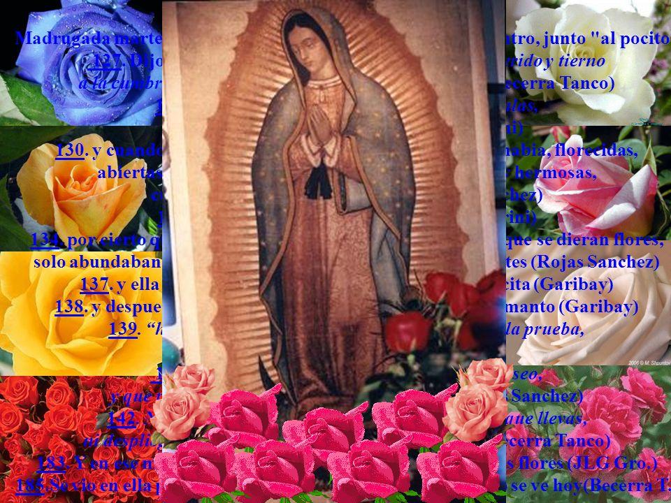 127. Dijole Maria santisima: sube, hijo mio muy querido y tierno