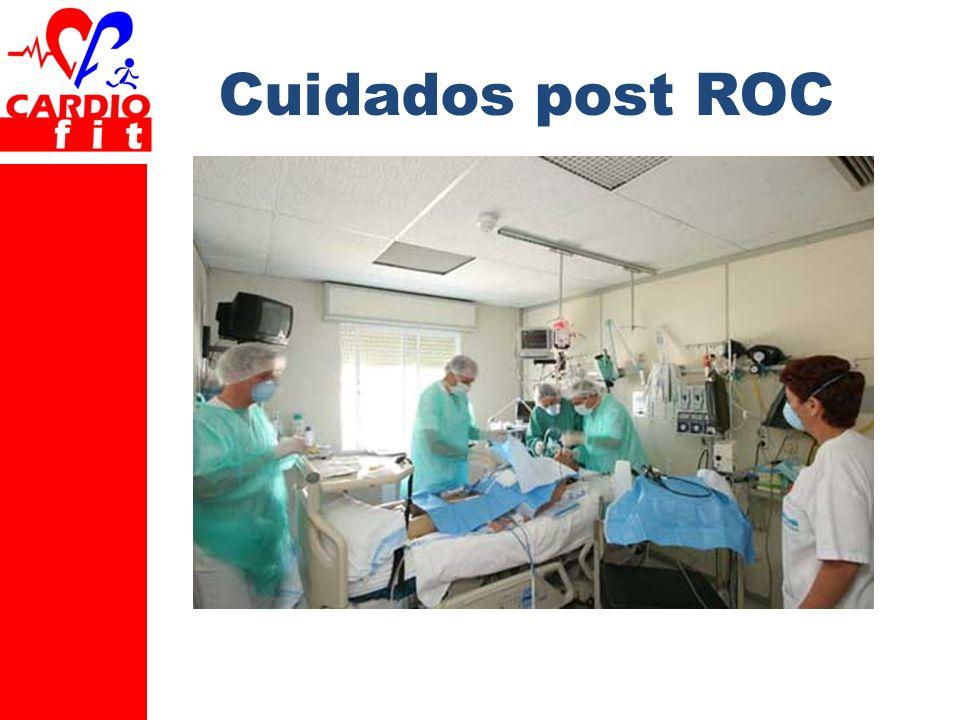 Cuidados post ROC Texto para explicación