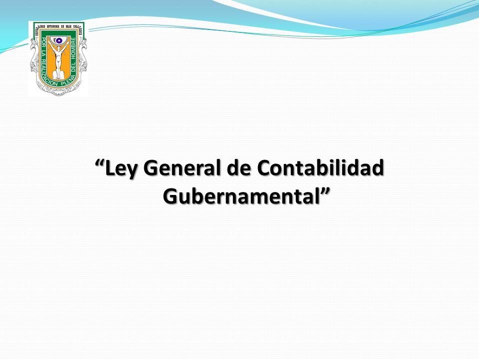 Ley General de Contabilidad Gubernamental
