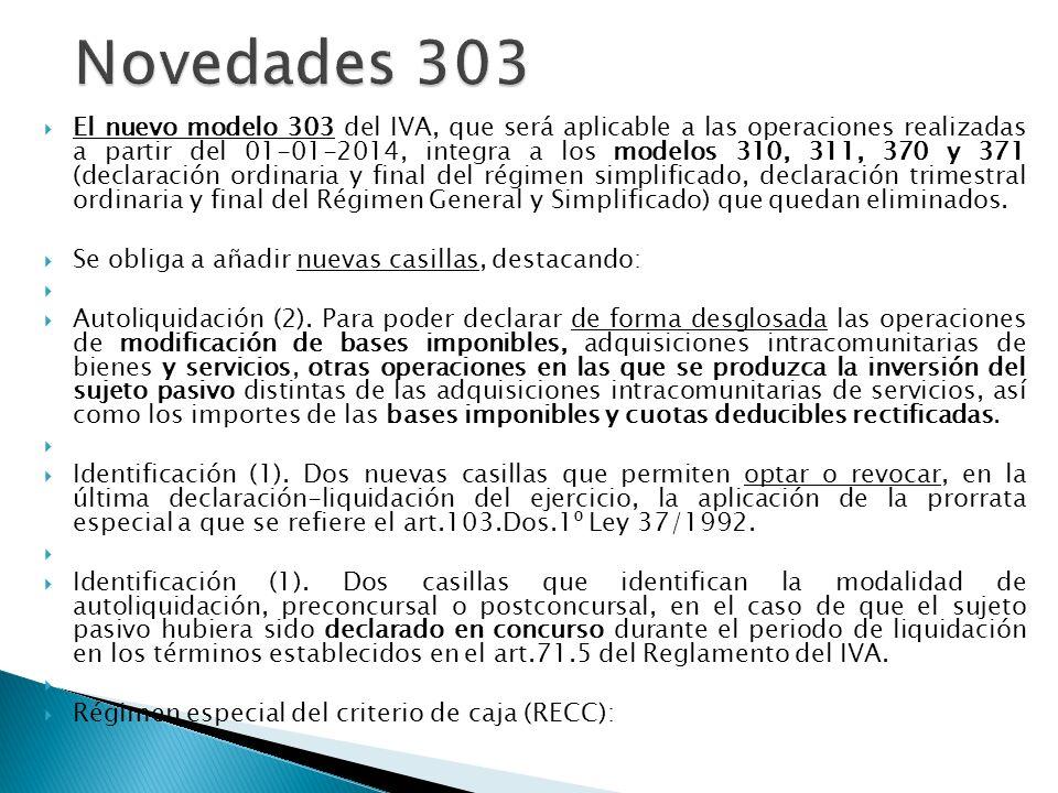 Novedades 303