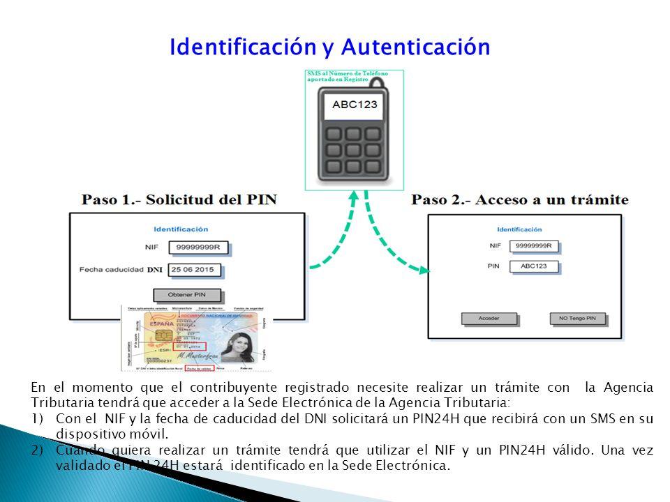 Identificación y Autenticación