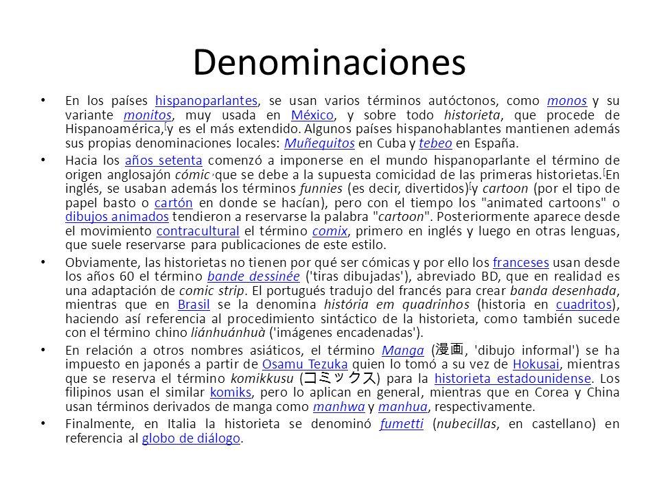Denominaciones