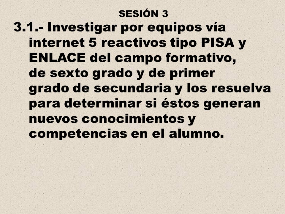 internet 5 reactivos tipo PISA y ENLACE del campo formativo,