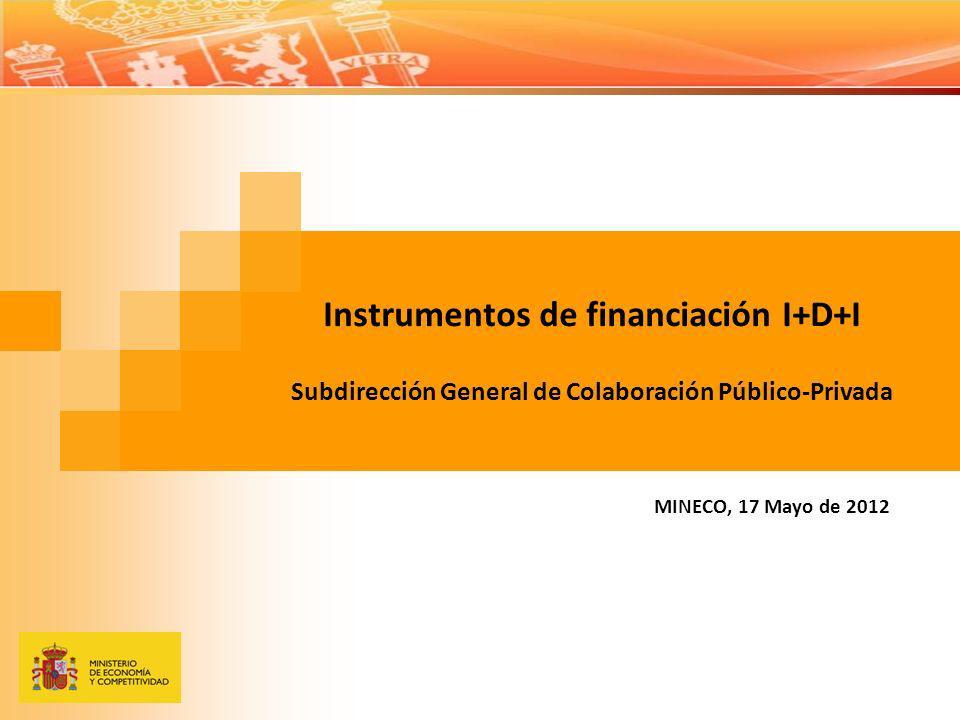 Instrumentos de financiación I+D+I