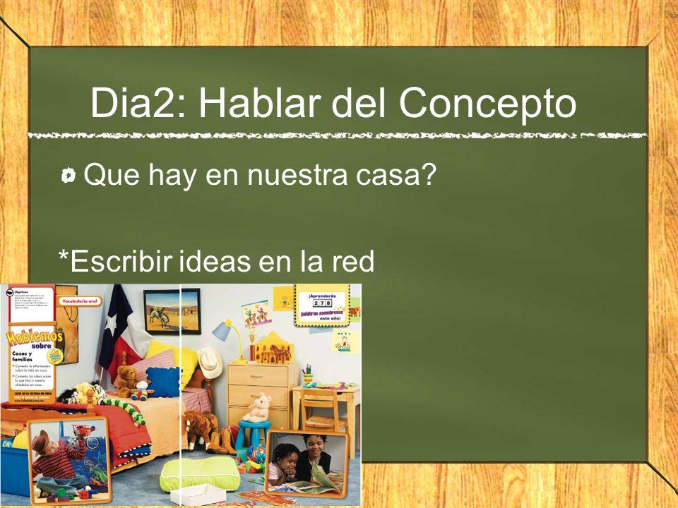 Dia2: Hablar del Concepto