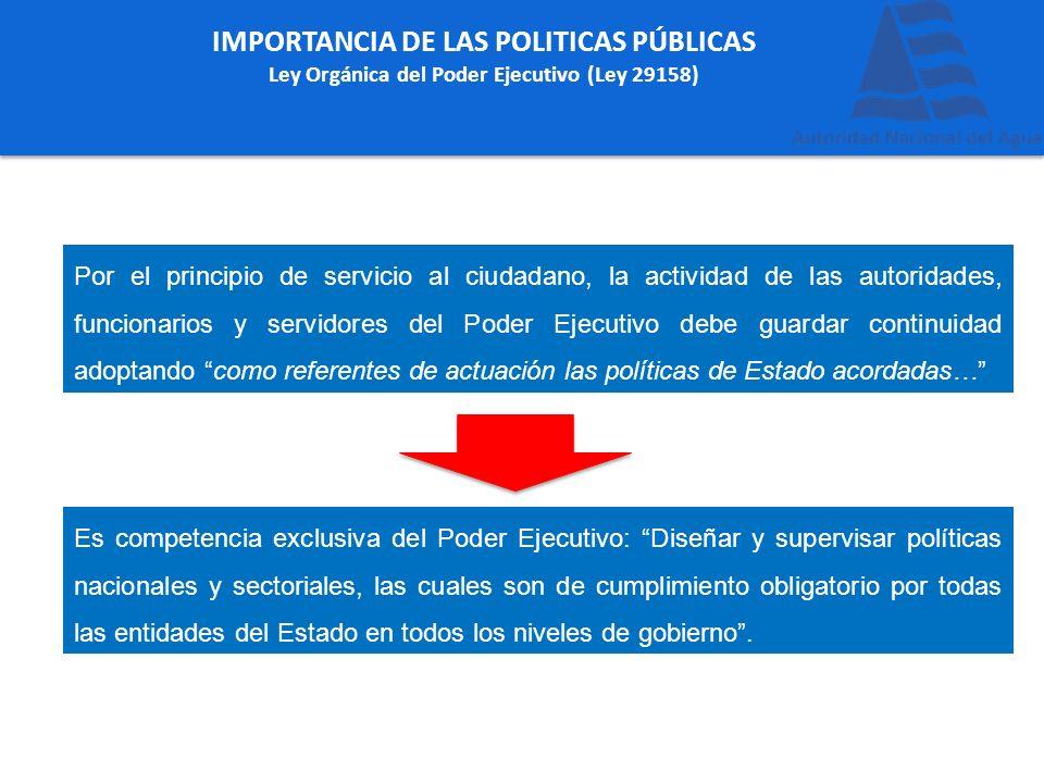 IMPORTANCIA DE LAS POLITICAS PÚBLICAS