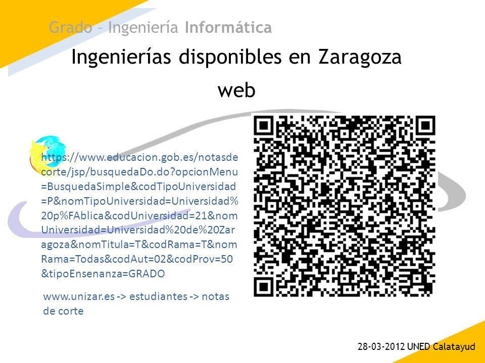 Ingenierías disponibles en Zaragoza