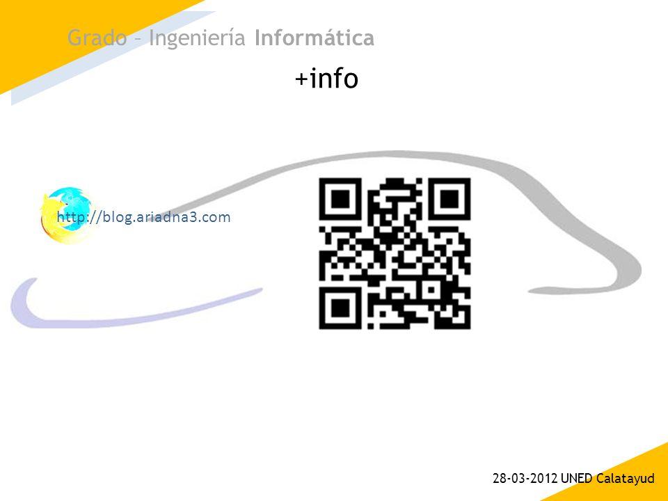 +info Grado – Ingeniería Informática http://blog.ariadna3.com