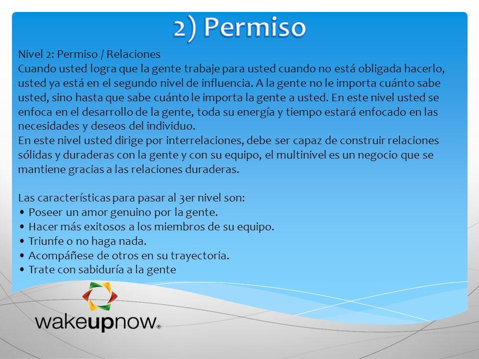 2) Permiso Nivel 2: Permiso / Relaciones