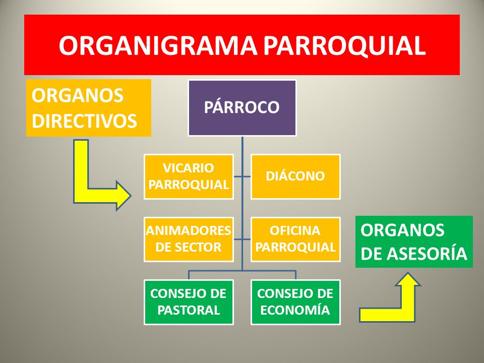 ORGANIGRAMA PARROQUIAL