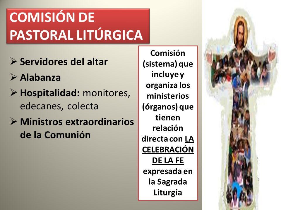 COMISIÓN DE PASTORAL LITÚRGICA