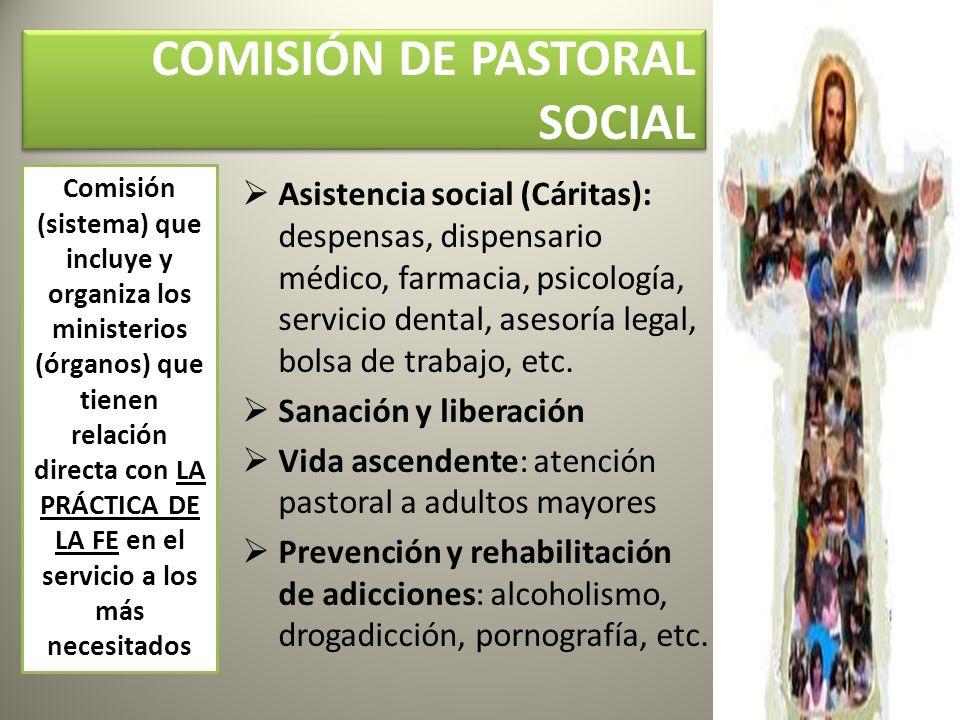 COMISIÓN DE PASTORAL SOCIAL