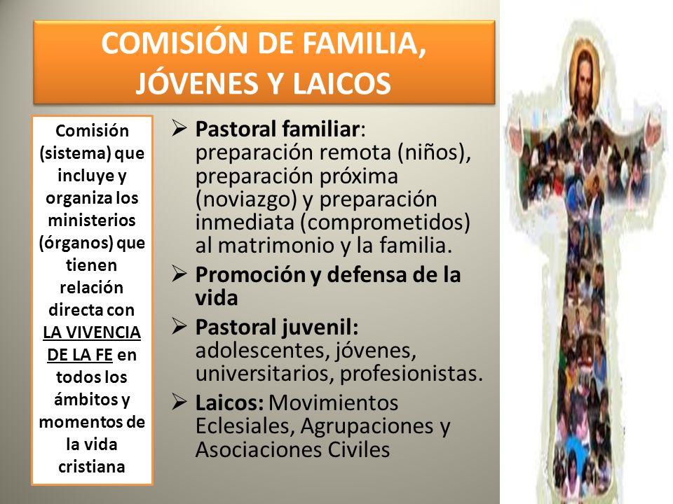 COMISIÓN DE FAMILIA, JÓVENES Y LAICOS