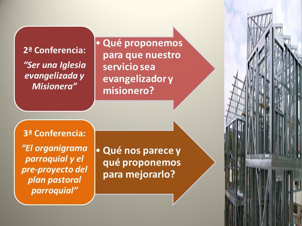 Ser una Iglesia evangelizada y Misionera